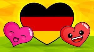 love cute country flag deutschland