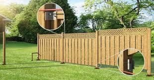 Install Fence Panels Rona