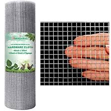 Amagabeli 48x50 Hardware Cloth 1 2 Inch 19 Gauge Square Galvanized Chicken Wire Fence Mesh Rabit Wire Fence Poultry Netting Cage Snake Fence On Galleon Philippines
