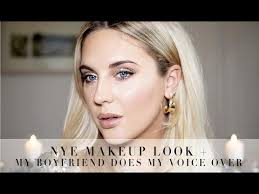 my voiceover nye makeup look