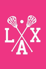 lacrosse notebook lax fun pink white