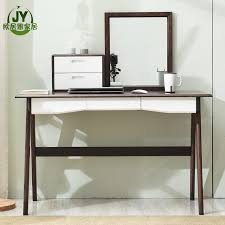 new style solid pine wood vanity table