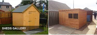 garden sheds glasgow apex roof wooden