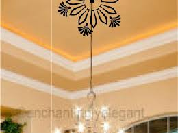 ceiling stickers for living room mirror