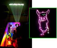 rgb laser projector is a jaw dropping