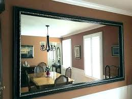 framing out a bathroom mirror