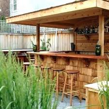 outdoor bar ideas image of patio