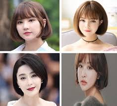 Kiểu tóc ngắn cho mặt tròn to đẹp giúp che khuyết điểm hoàn hảo