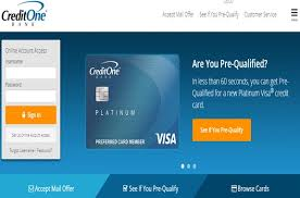 credit one card activation simple