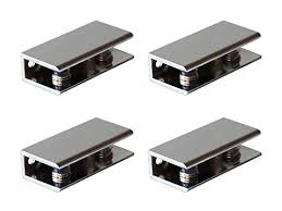rectangular shelf clips metal clamps