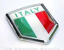Italian Flag Decal Etsy