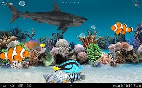 aquarium live wallpaper apps