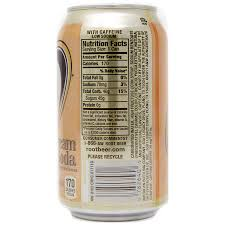a w creme soda can fridge pack 355ml