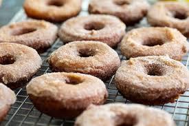 homemade apple cider donuts recipe