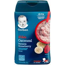 Bột ăn dặm Gerber cho bé từ 8 tháng tuổi