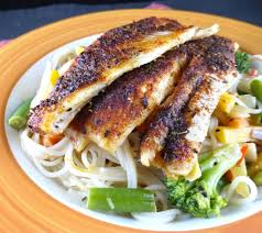 Spicy Baked Fish (ready in 20 minutes)