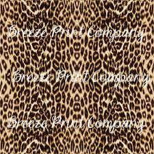 Jaguar Print Craft Vinyl Sheet Htv Adhesive Vinyl Leopard Cheeta Breeze Crafts