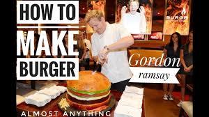 how to make burger gordon ramsay