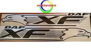 daf xf logo truck decal vinyl sticker