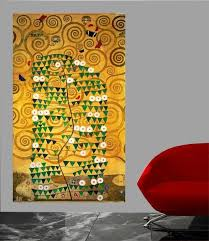 Klimt Tree Of Life 20th Wall Decal