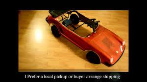 pedal car prestige mini motors