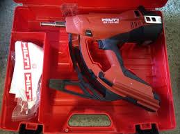 hilti gx 120 me gas powered nail gun