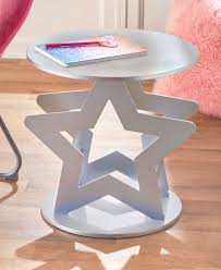 Novelty Silver Star Shaped Room Accent Table For Kids Teenagers Room Walmart Com Walmart Com