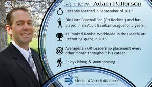 Adam Patterson - Managing Partner - The HealthCare Initiative