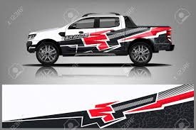 Car Decal Wrap Design Vector Graphic Abstract Stripe Racing Royalty Free Cliparts Vectors And Stock Illustration Image 125574393