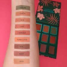 botanic eyeshadow palette makeupmekka