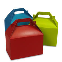 colorful corrugated paper gift box
