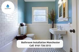bathroom installation manchester in