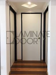 door install for hdb with laminate