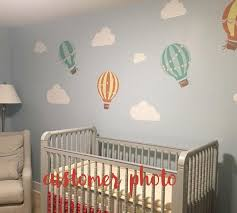 Hot Air Balloon Wall Decals Vintage Hot Air Balloon Decals Eco Wall Decals