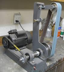 pictorial guide to diy 2x72 belt grinders