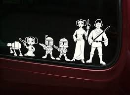 Family Star Wars Decals Star Wars Decal Star Wars Awesome Star Wars Nerd