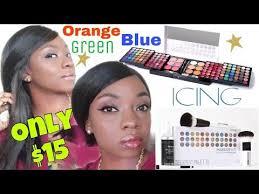using icing makeup kit colorful