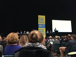 """Iva Hamilton on Twitter: """"#betterfunding, the largest meeting of combined  NZEI and PPTA TEACHERS @Horncastle Arena Christchurch… """""""
