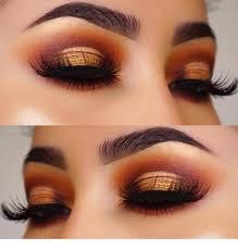 sunset eye makeup saubhaya makeup