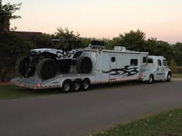 extreme toy hauler the size of the toy