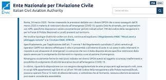 ENAC chiarisce: i droni privati possono continuare a volare ...