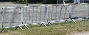 Crowd Control Barricades Rental Mobile Fencing Inc