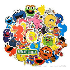 2020 Wholesale Cartoon Anime Sesame Street Stickers Decals Vinyl Waterproof No Duplicate Sticker For Laptop Skateboard Bottle Car Decal From Autoparts2006 2 22 Dhgate Com