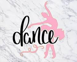 Excited To Share This Item From My Etsy Shop Dance Decal Ballerina Decal Dancer Decal Dance Sticker Ballerina Stick Dance Tumbler Decal Glitter Vinyl