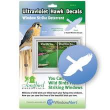 Window Decals For Birds Ultraviolet Bird Stickers