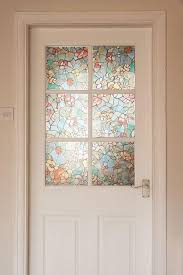 garden stained glass window