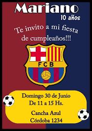 Tarjeta Invitacion Barcelona Digital Cumpleanos 150 00 En