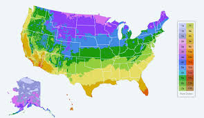 find your plant hardiness growing zone