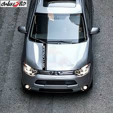 Auto Cover Engine Bonnet Decor Stickers Vinyl Body Decals Car Sport Styling For Mitsubishi Outlander Hood Accessories Stickers Buy At The Price Of 11 87 In Aliexpress Com Imall Com