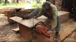 alaskan mill to turn a tree into lumber